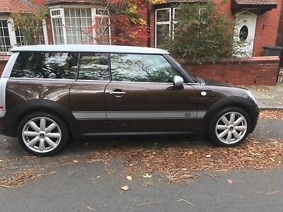 2007 (57 Reg) 1.6 Mini Cooper One Hot Chocolate Estate, New clutch MOT OCT 19