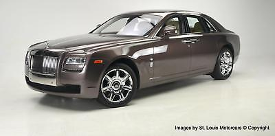 2011 Ghost -- 2011 Rolls-Royce Ghost New Sable Metallic over Crème Light & Dark Spice.