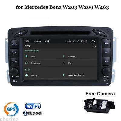 Android7.1 Car DVD Stereo GPS Navi Player Wifi Radio for Mercedes Benz W203 Vito