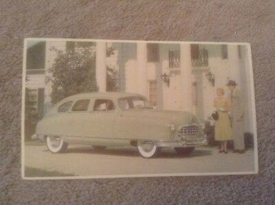 Vintage Postcard of the Nash Airflyte Automobile by Pontiac