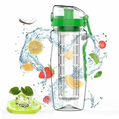 1000ML Leak-proof Fruit Infuser Safe Juice Shaker Lemon Fruit Water Bottle WZ