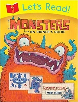Monsters An Owners Guide (Lets Read) By Emmett Jonathan NEW (Paperback) Book