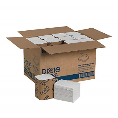 Dixie Ultra Interfold 2-Ply Napkin Dispenser Refill Previously EasyNap by GP PRO