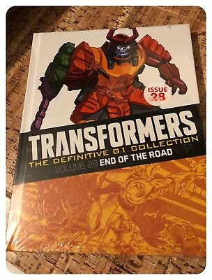 Transformers The Definitive G1 Collection End of the Road Issue 28 - New Sealed