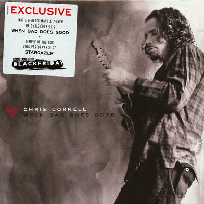 """Chris Cornell When Bad Does Good Vinile 7"""" Limited Marble Black Friday 2018"""