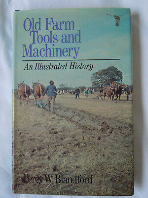 @Old Farm Tools & Machinery by Percy W Blandford HB  Book@