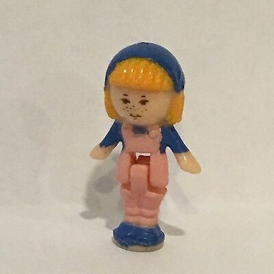 Vintage Polly Pocket Bluebird 1990 Midge's Flower Shop Replacement Doll Figure