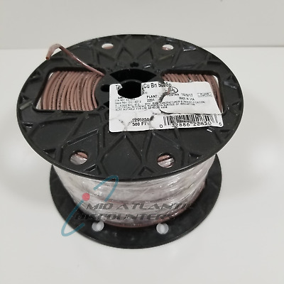 Southwire #14 AWG Copper Machine Tool Wire Brown Stranded THHN/THWN 500Ft