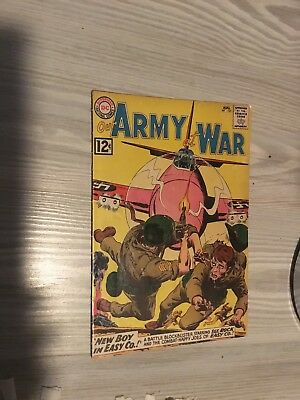 Our Army at War #121 G+ DC comic 1962