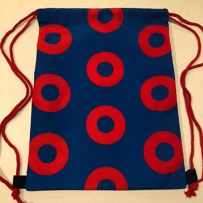 Fishman Donut Phish Drawstring Backpack