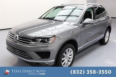 2017 Volkswagen Touareg Sport w/Technology Texas Direct Auto 2017 Sport w/Technology Used 3.6L V6 24V Automatic AWD SUV