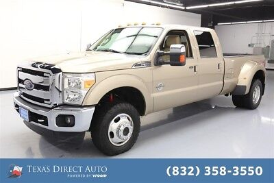 2014 Ford F-350 Lariat 4dr Crew Cab 4WD Texas Direct Auto 2014 Lariat 4dr Crew Cab 4WD Used Turbo 6.7L V8 32V Automatic