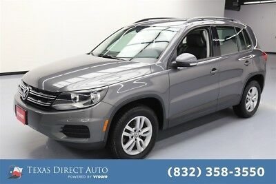 2016 Volkswagen Tiguan 2.0T 4Motion 4dr SUV AWD Texas Direct Auto 2016 2.0T 4Motion 4dr SUV AWD Used Turbo 2L I4 16V Automatic