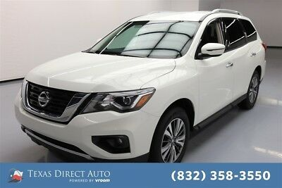 2017 Nissan Pathfinder SV 4dr SUV 4WD Texas Direct Auto 2017 SV 4dr SUV 4WD Used 3.5L V6 24V Automatic 4WD SUV