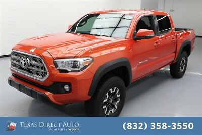 2017 Toyota Tacoma 4x2 TRD Off-Road 4dr Double Cab 5.0 ft SB Texas Direct Auto 2017 4x2 TRD Off-Road 4dr Double Cab 5.0 ft SB Used 3.5L V6