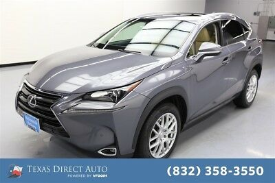 2015 Lexus NX 4dr Crossover Texas Direct Auto 2015 4dr Crossover Used Turbo 2L I4 16V Automatic FWD SUV