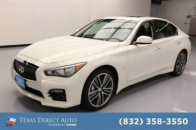 2015 Infiniti Q50 Sport Texas Direct Auto 2015 Sport Used 3.7L V6 24V Automatic AWD Sedan Premium Bose
