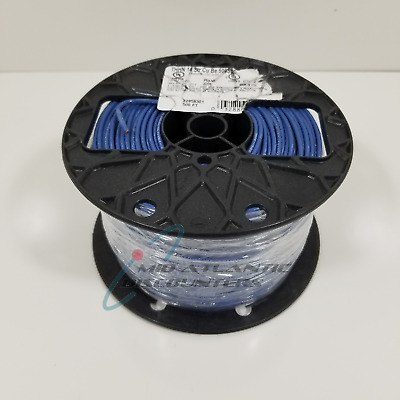 Southwire #14 AWG Copper Machine Tool Wire Blue Stranded THHN/THWN 500Ft
