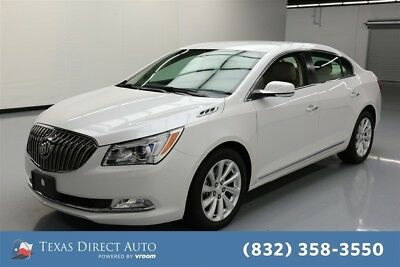 2015 Buick Lacrosse Leather Texas Direct Auto 2015 Leather Used 3.6L V6 24V Automatic FWD Sedan OnStar