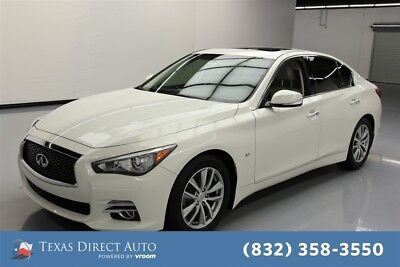 2015 Infiniti Q50 Premium Texas Direct Auto 2015 Premium Used 3.7L V6 24V Automatic RWD Sedan Bose