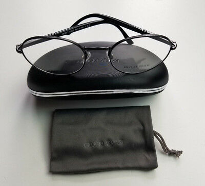 Vintage Giorgio Armani Ar 5002 3001 Frames Of Life Collection Black Frame Italy