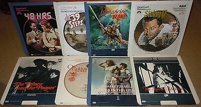 Ced! - Rca Selectavision Videodiscs Choose 4 Classic Comedy & Action Titles