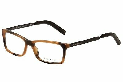 95a82eed28be Burberry Men's Eyeglasses BE2159-Q BE/2159-Q 3518 Amber/Black Optical