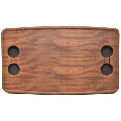 Premier Boat Table Top | 33 3/4 x 19 5/8 Inch Plastic Woodgrain