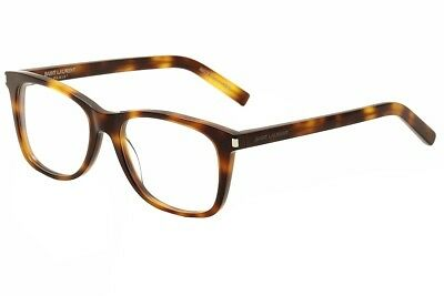 Saint Laurent Eyeglasses SL90 SL/90 002 Havana/Transparent Optical Frame 54mm