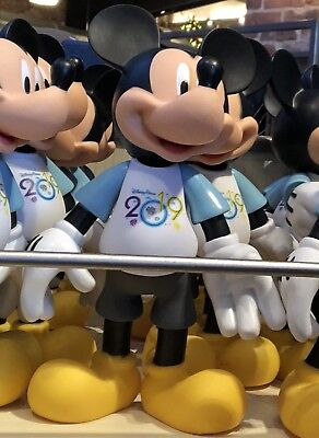 2019 Mickey Mouse Figure Articulated Walt Disney World Theme Parks NEW