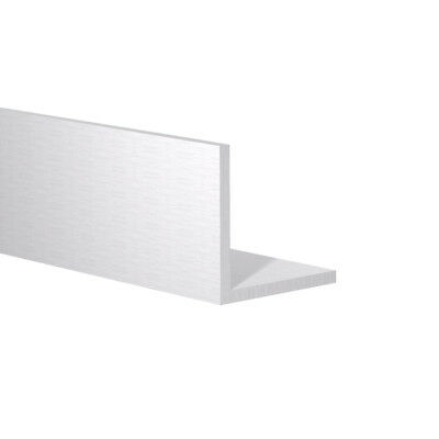 """Aluminum Angle: 1-1/2"""" x 1-1/2"""" x 1/8"""" Wall (3 Foot Length) Clear Anodized"""