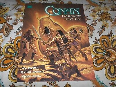 Conan...The Ravagers Out of Time....Mint to NM Marvel Graphic Novel