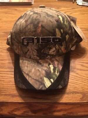 Ford F-150 Camo Hat Cap Mossy Oak New With Tags