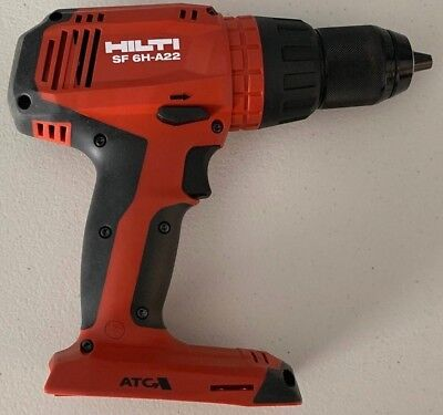 """!! Hilti SF 6H-A22 22V 1/2"""" Cordless Hammer Drill Driver - Tool Only - NEW!!"""