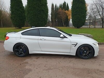 White Bmw M4 3.0 Twin Turbo Auto Dct Coupe 562 Bhp Stage 2 Red Leather 46K Miles