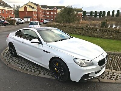 White Bmw 6 Series 640D M Sport Coupe Diesel M Performance M6 M3 M4 M5 May Px