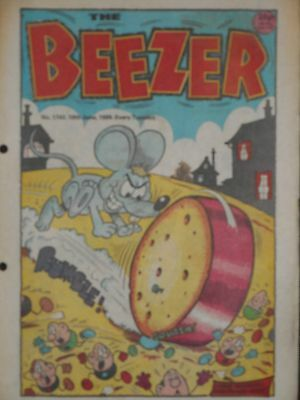 The Beezer Comic 10th June 1989 (Issue 1743)