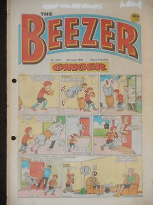 The Beezer Comic 8th June 1985 (Issue 1534)