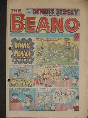 The Beano Comic 18th August 1984 (Issue 2196)
