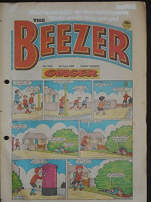 The Beezer Comic 1st June 1985 (Issue 1533)