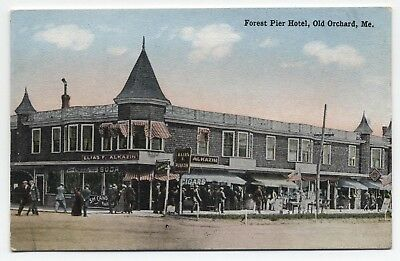 ME ~ Forest Pier Hotel OLD ORCHARD Maine c1910 York County Postcard