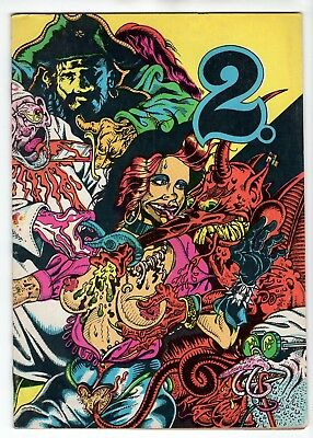Two #2 (2 Squared) 1976 Underground Comix by S. Clay Wilson