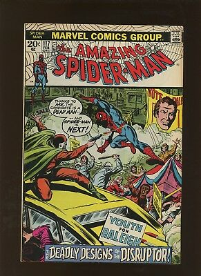 Amazing Spider-Man 117 FN/VF 7.0 * 1 Book Lot * 1st as Disruptor!