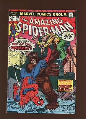 Amazing Spider-Man 139 FN/VF 7.0 * 1 Book Lot * 1st Grizzly! Ross Andru!