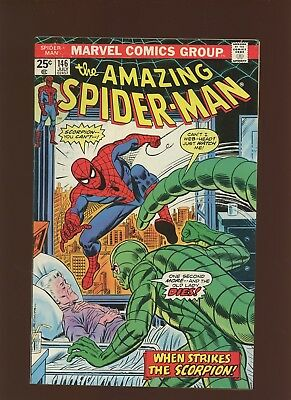 Amazing Spider-Man 146 FN/VF 7.0 * 1 Book Lot * Scorpion Where is Thy Sting?