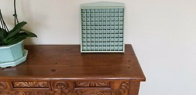 Thimble Solid Wood Display Case--Holds 100 Thimble Slots