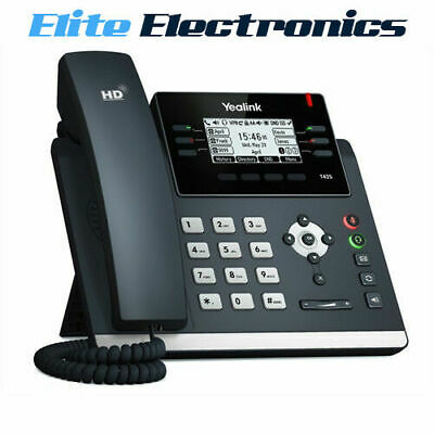 Yealink T42S Ip Phone Lcd Display 12 Lines Sip For Business