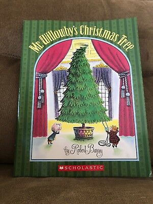 Mr. Willowby's Christmas Tree, By Robert Barry, Paperback, Classic Holiday Story