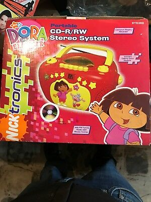New Dora The Explorer CD : Stereo System Portable