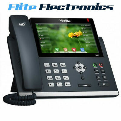 """Yealink T48S 7"""" Colour Touch Screen 16 Line Hd Voice Ip Phone"""